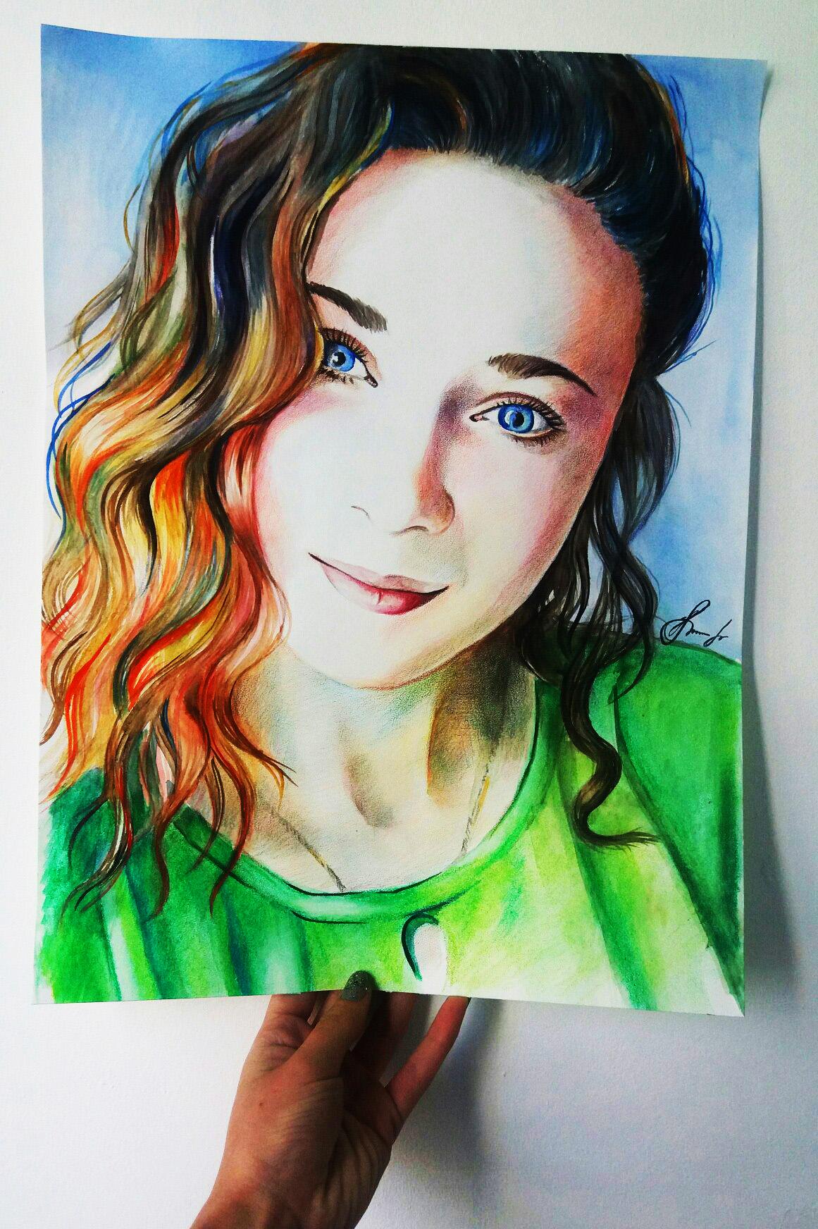 2zJWR9rlKIE Реалистичный портрет (красками)