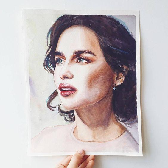 60ac57b6b2dd41d7d5b164a9fb914313 Реалистичный портрет (красками)