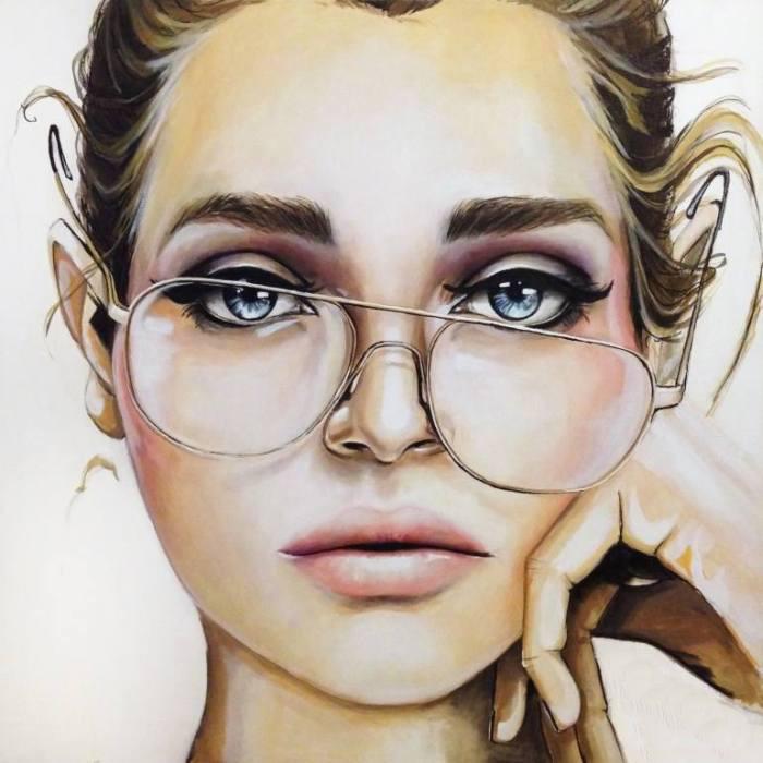 Jessica_Rae_Sommer_15 Реалистичный портрет (красками)