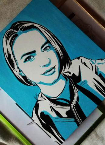 UvAdy6KMwHY-739x1024-640x480 Поп-арт портрет