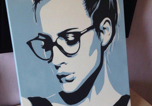 pop-art Поп-арт портрет