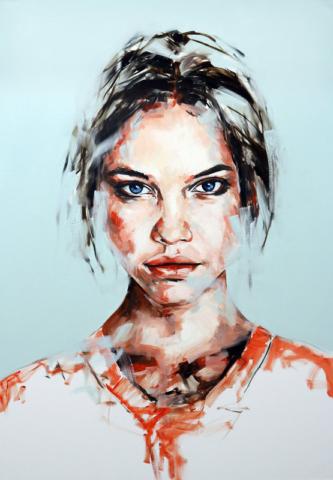Paul-BENNETT-Spirits-in-Transit-1495176550-640x480 Портрет в свободном стиле