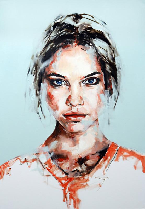 Paul-BENNETT-Spirits-in-Transit-1495176550 Портрет в свободном стиле